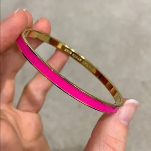 Pink Kate Spade bangle